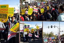 نوای استکبارستیزی در استان قزوین طنین انداز شد