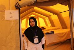 دایر شدن ۸ بیمارستان صحرایی در مرزهای کشور