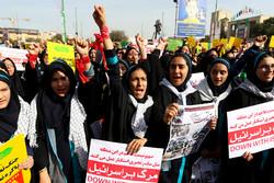 فریاد « هیهات منا الذله » بر بلندای بام ایران طنین انداز شد