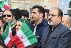 صحنه های زیبای حضور پر شور مردم شهرکرد در راهپمایی ۱۳ آبان