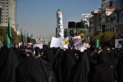 راهپیمایی باشکوه ۱۳ آبان در مشهد