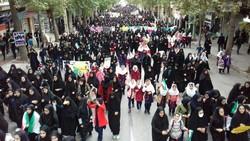 آماده سازی مسیر راهپیمایی۱۳ آبان از  دانشگاه تهران تا لانه جاسوسی