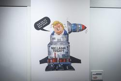 """Tahran'da """"Donald-Selman"""" karikatür sergisi"""