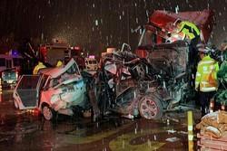 سانحه رانندگی در چین ۵۹ کشته و زخمی در پی داشت
