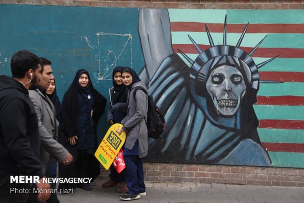 Iranians mark anniversary of US embassy takeover