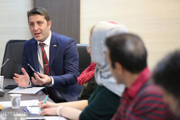 Polish Trade delegation's press conference held at Tehran Times
