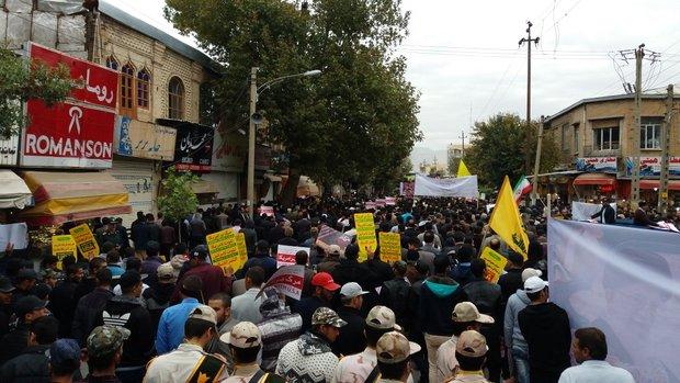 راهپیمایی 13 آبان کرمانشاه