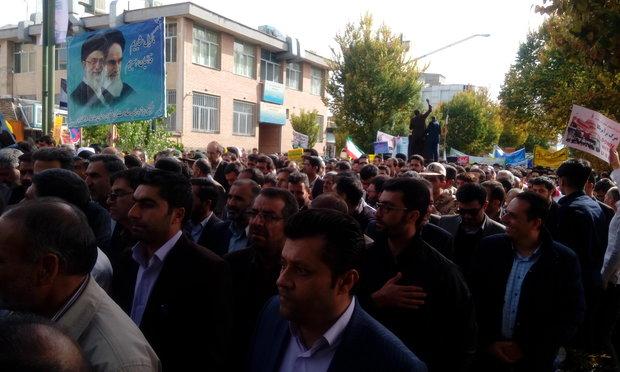 راهپیمایی13ابان شهرکرد