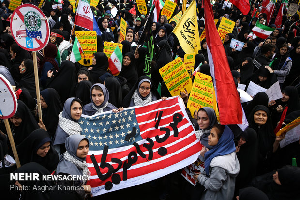 Iran marks 40th anniversary of US embassy takeover
