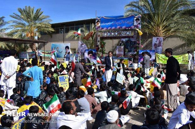 راهپیمایی استکبار ستیزی ۱۳ آبان در مهرستان