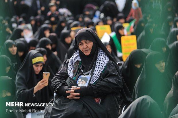 Anti-arrogance rallies across Iran