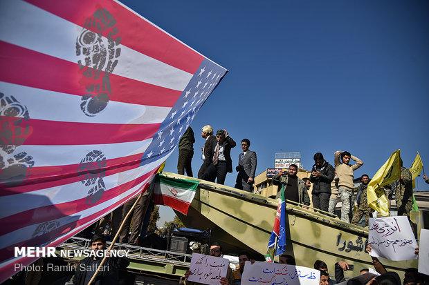 راهپیمایی استکبار ستیزی ۱۳ آبان در مشهد