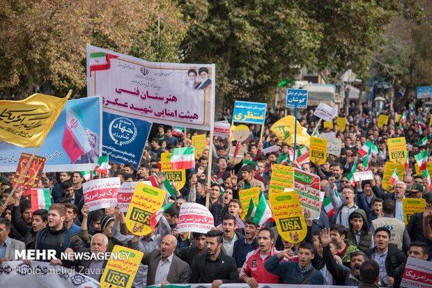 دعوت شورای هماهنگی خراسان جنوبی برای حضور در راهپیمایی ۱۳ آبان