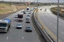 بیشترین تردد در آزادراه قزوین -کرج با بیش از ۱۳۴ هزار وسیله نقلیه