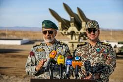 ایران میں ايئر ڈیفنس مشترکہ فوجی مشقیں