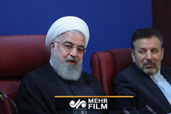 روحانی : نام دکتر سیف برای همیشه در تاریخ ایران خواهد ماند