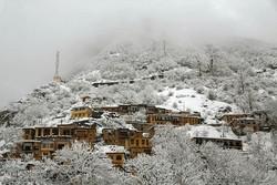 بارش برف بهاری در ماسوله