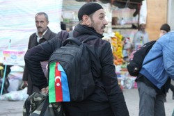 توزیع بسته های فرهنگی به زائران خارجی اربعین در مرز آستارا