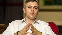The former Jammu and Kashmir chief minister Omar Abdullah