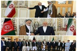 Iran FM meets with head of Afghan High Peace Council