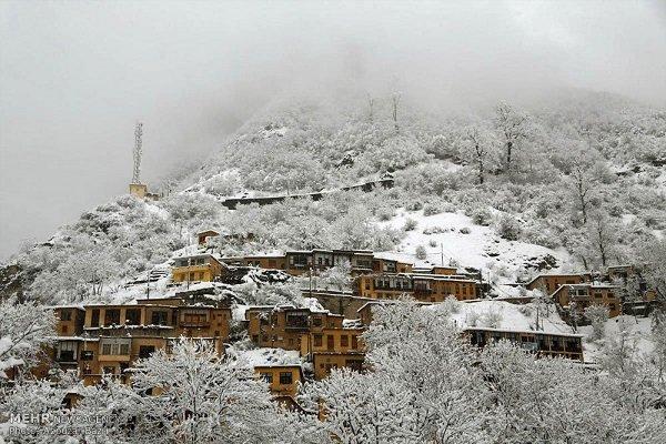 بارش برف بهاری در ماسوله - خبرگزاری مهر | اخبار ایران و جهان | Mehr News Agency