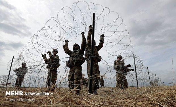 نزدیک شدن مهاجران به مرزهای آمریکا