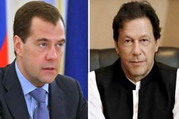 عمران خان نے روسی وزیراعظم سے ملاقات