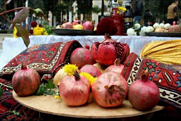 Azerbaycan'da Renkli Nar Festivali
