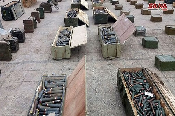 US-made weapons found in Quneitra, Damascus countryside