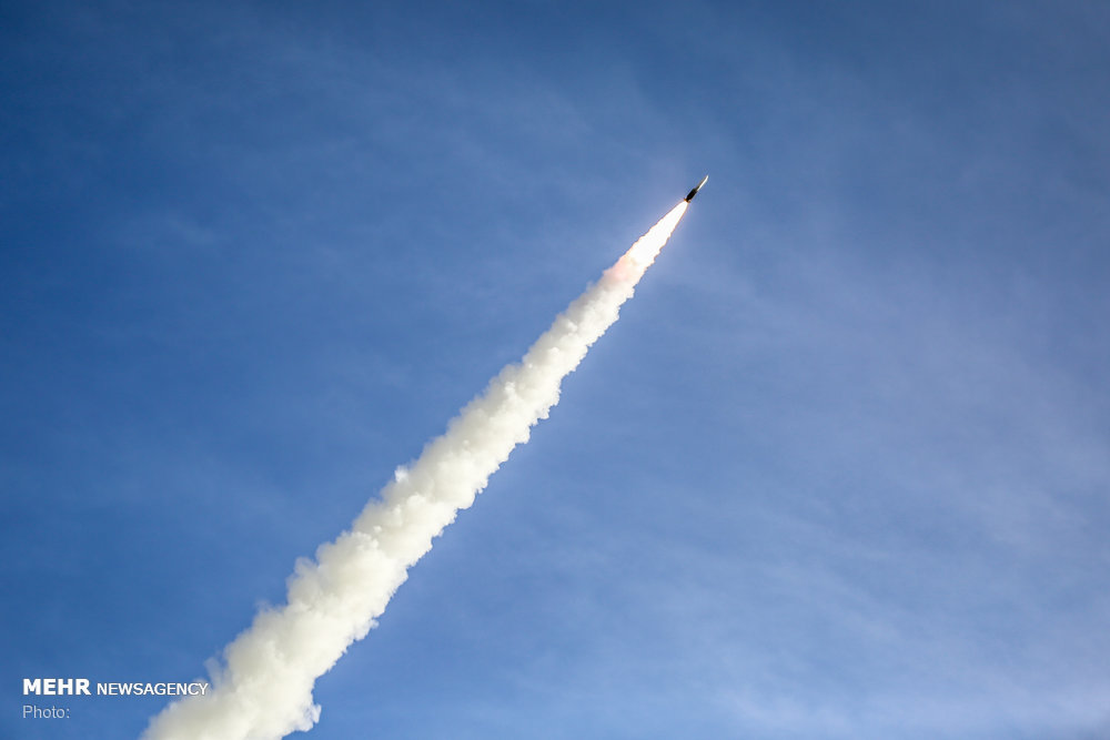 Test-launch of mid-range, long-range Talash missile system