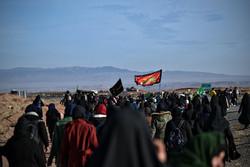 حرکت بزرگترین کاروان پیاده زنان از نیشابور به سمت مشهد