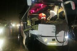 یک کشته و ۴ زخمی حاصل تصادف سمند با اتوبوس در محور ایلام- مهران