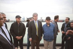 ECO representatives visit Amirabad Port