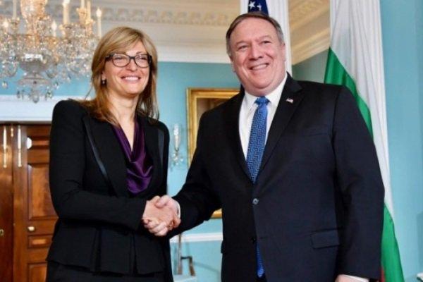 رایزنی وزرای خارجه آمریکا و بلغارستان درباره ایران و روسیه