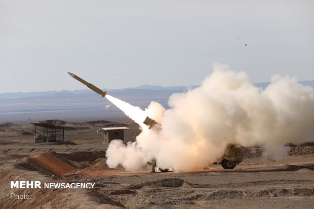 Shalamcheh missiles launched at military drills