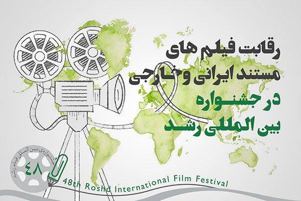 رقابت ۳۹ مستند در بخش بینالملل جشنواره فیلم «رشد»
