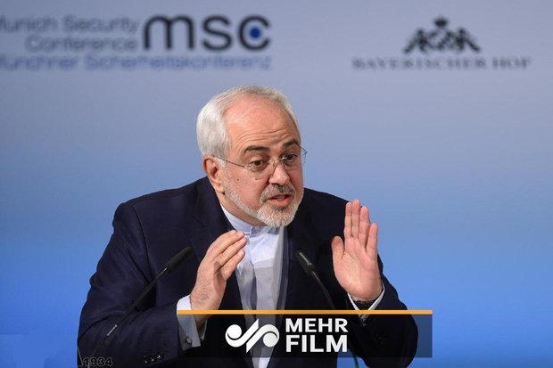 خلف كواليس رسالة ظريف للشعب الايراني / فيديو