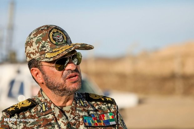 Top cmdr. recommends W Asian states not to join coalition of Islam's enemies