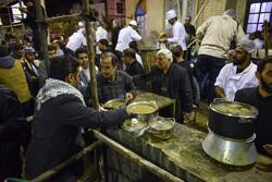 شیراز میں 84 ہزار کلو نذری غذا کا اہتمام