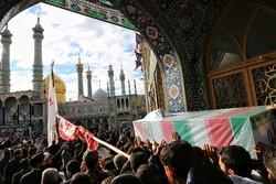 تشییع  پیکر شهید حجت الاسلام دهقانی
