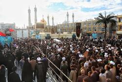 مدافع حرم شہید محمد حسن دہقانی کی تشییع جنازہ