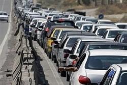 وضعیت ترافیکی محورهای بزرگراهی شهر تهران