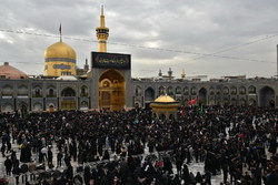 Demise anniv. of Prophet Muhammad in holy shrine of Imam Reza (AS)