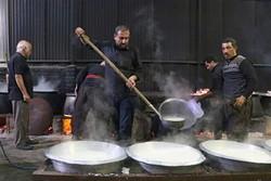 پخت غذای نذری در لارستان