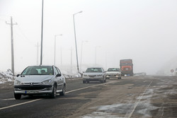 بارش برف و کولاک در دومین روز اردیبهشت ماه در تبریز
