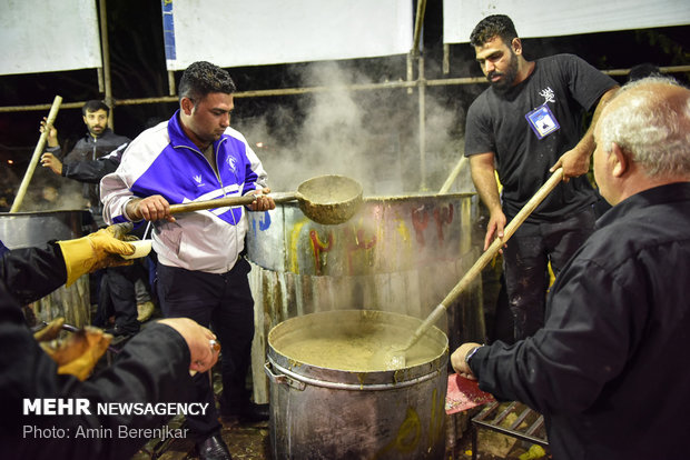 84,000kg 'nazri' Persian Ash stewed in Shiraz