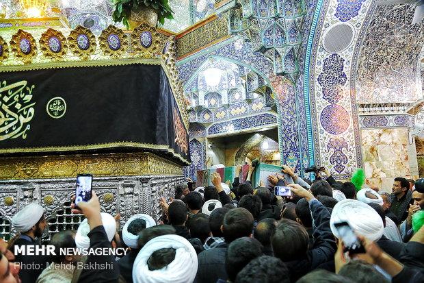 تشییع  پیکر حجت السلام محمد حسن دهقانی