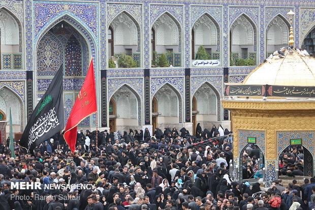 Demise anniversary of Prophet Muhammad in holy shrine of Imam Reza (A S)