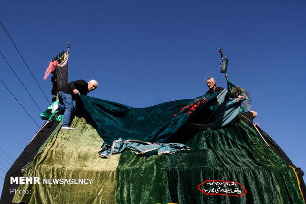 آئین نخل برداری مورچه خورت اصفهان
