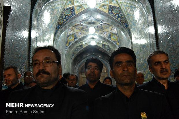 Martyrdom anniv. of 8th Shia Imam in Mashhad